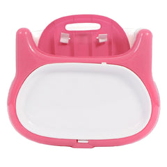 MyChild Graze 3-in-1 Highchair (Pink) - showing the seat unit from above