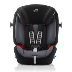 Britax-Romer Multi-Tech III (Storm Grey) - front view, shown here with both SICT arms extended