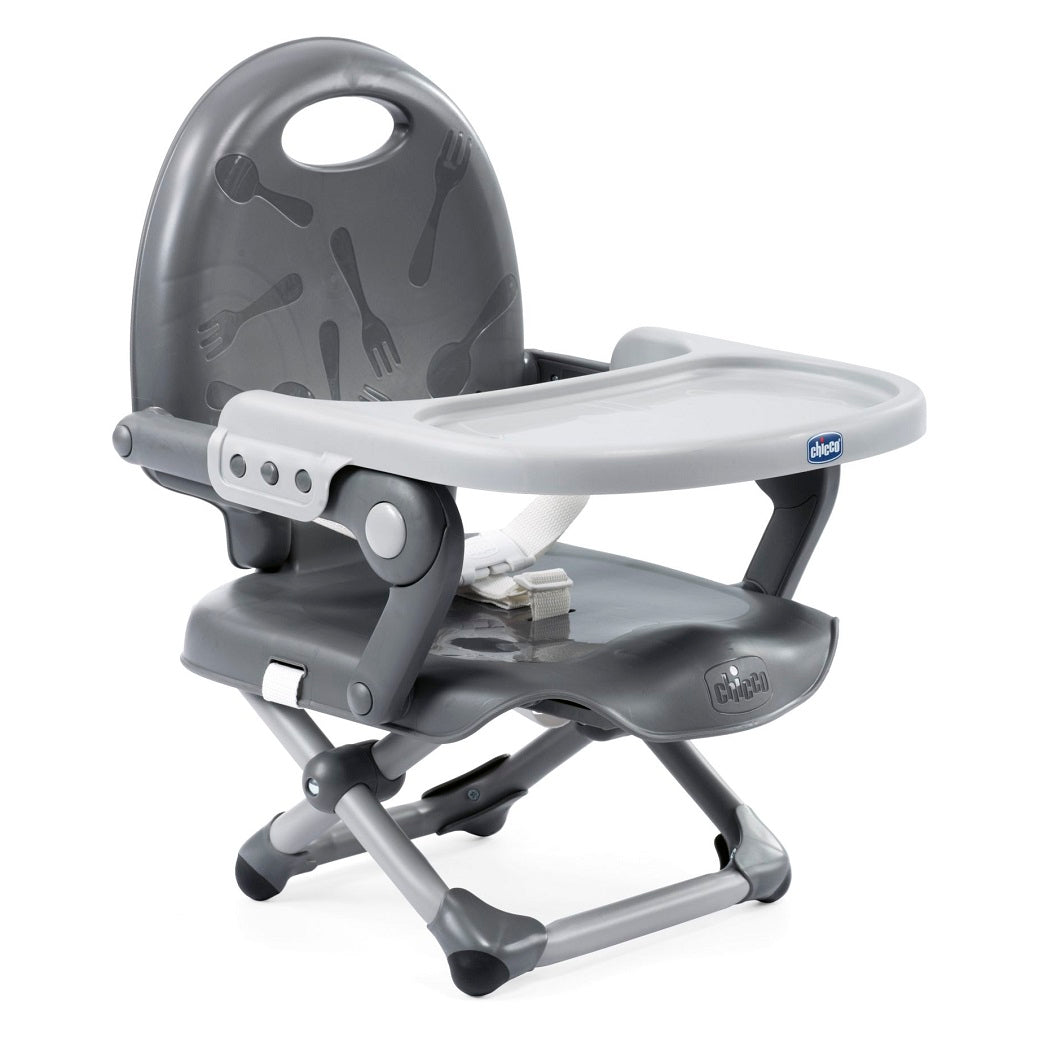 Chicco Pocket Snack Highchair Booster Seat (Dark Grey)