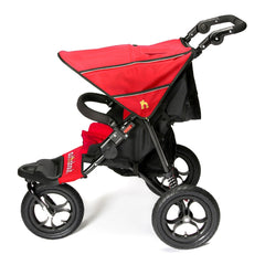 Out n About Nipper 360 v4 Pushchair (Carnival Red) - side view