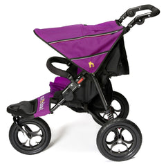 Out n About Nipper 360 v4 Pushchair (Purple Punch) - side view