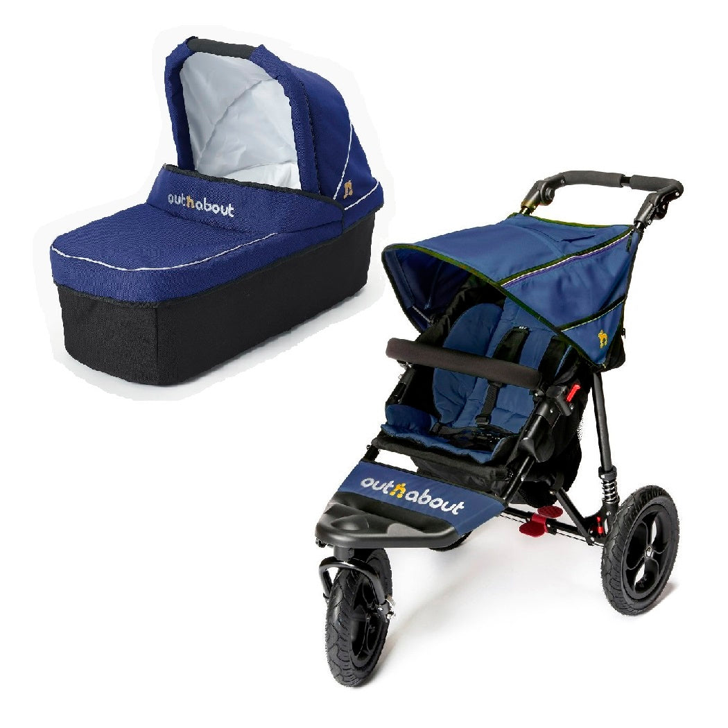 Out n About Nipper 360 v4 Pushchair & Carrycot (Royal Navy)