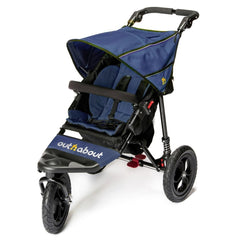 Out n About Nipper 360 v4 Pushchair (Royal Navy) - quarter view