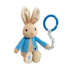 Beatrix Potter 'Peter Rabbit' Jiggle Attachable Toy - front view