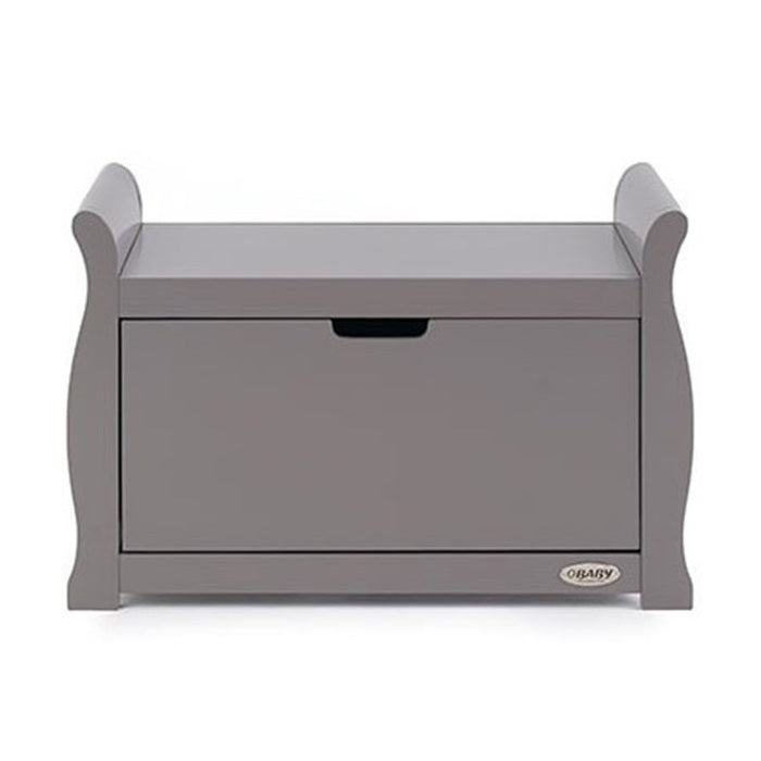 Obaby Stamford Sleigh Toy Box (Taupe Grey)