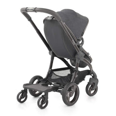 egg Ride-On Board (Black) - shown here attached to an egg stroller