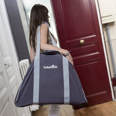 Babymoov Swoon Up Carry Bag (Grey) - lifestyle image