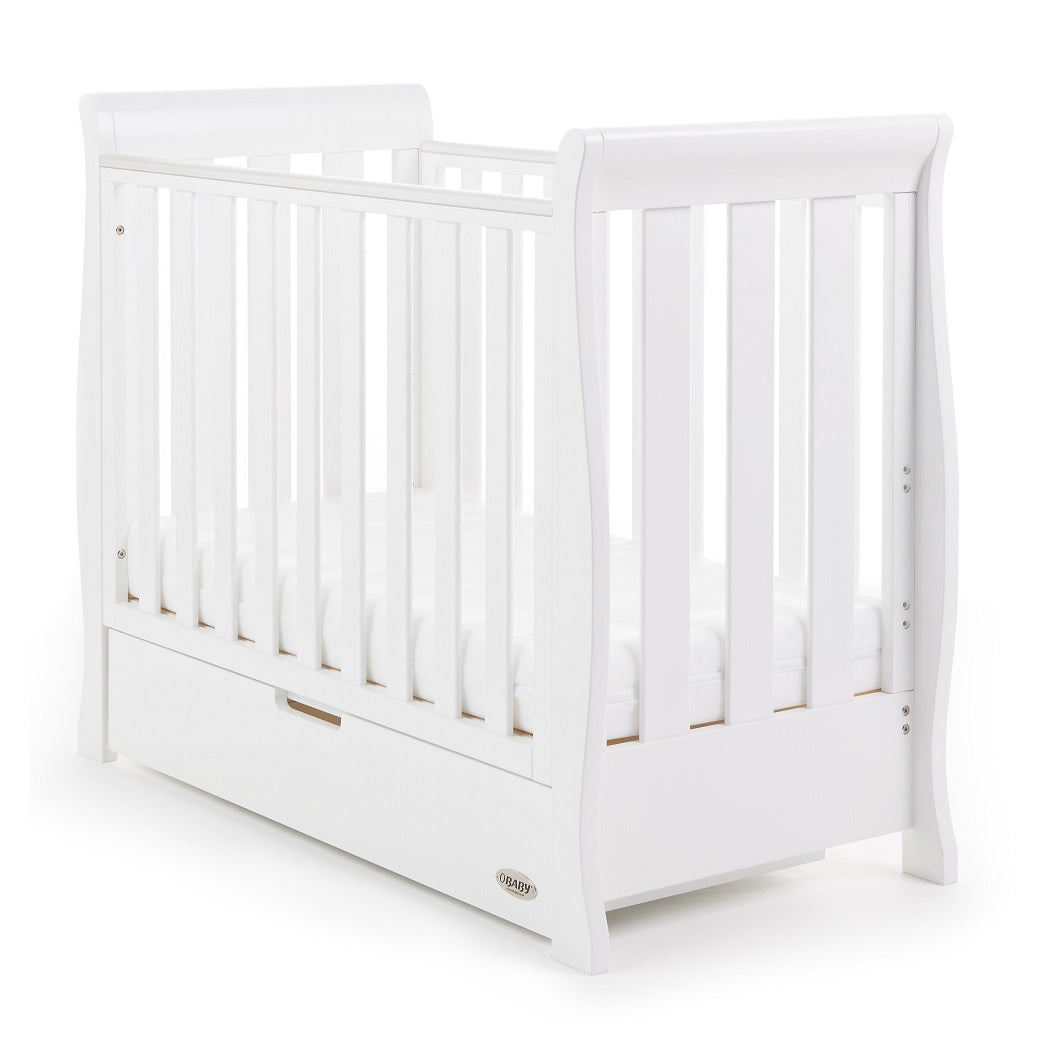 Obaby Stamford Space Saver Cot (White)
