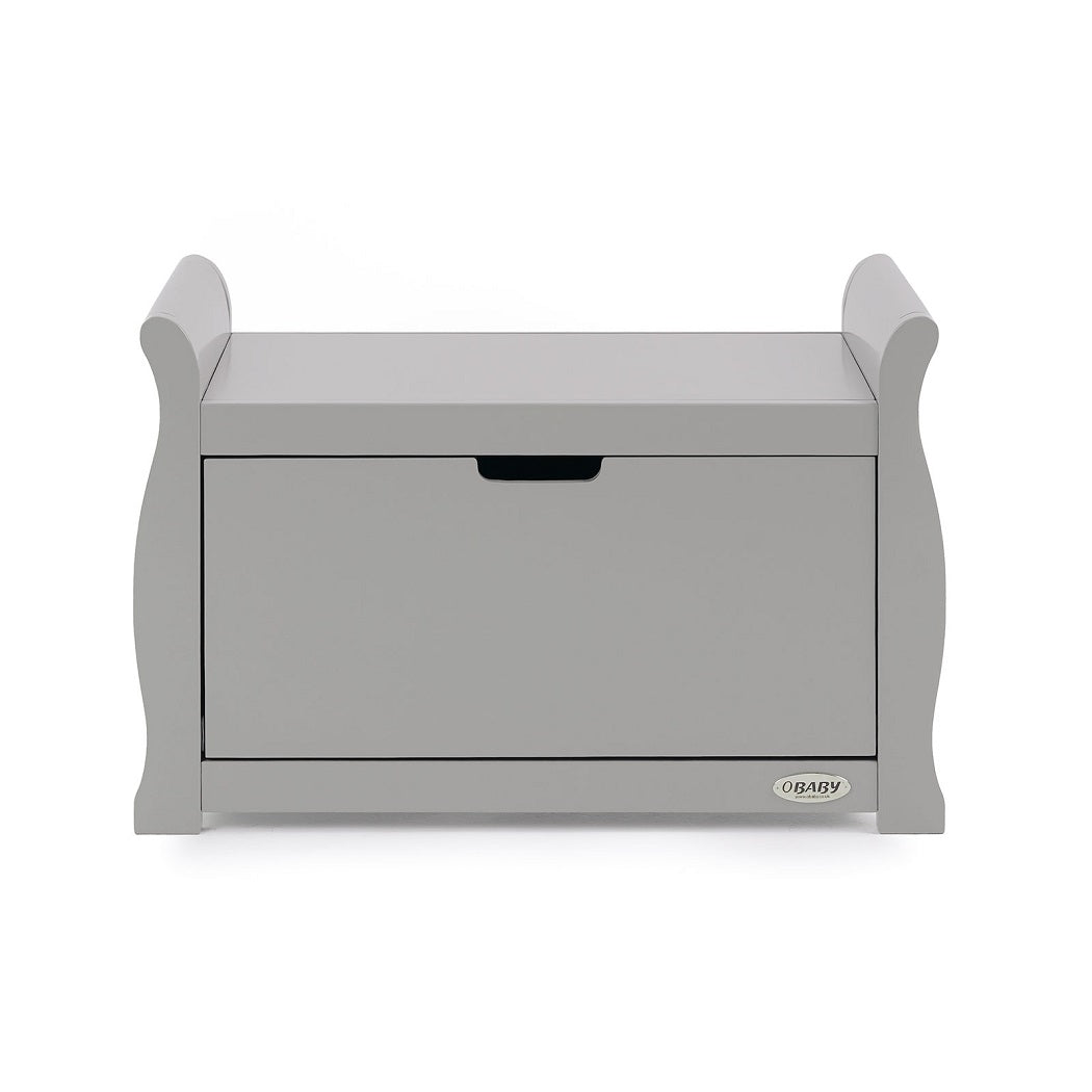 Obaby Stamford Sleigh Toy Box (Warm Grey)