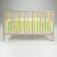 Airwrap Mesh Cot Protector - 4 Sided (Green) - lifestyle image