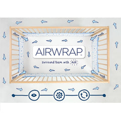 Illustration showing the benefits of Airwrap protectors