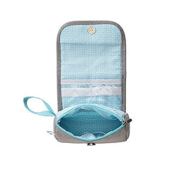 Babymoov Compact Baby Grooming Set (Aqua) - showing the storage available