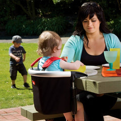 Phil & Teds Lobster v2 Portable High Chair (Black) - lifestyle image