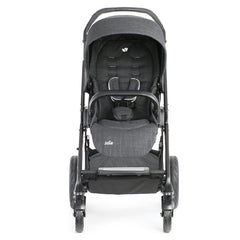Joie Chrome DLX Pushchair (Pavement) - front view, shown forward-facing