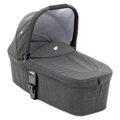 Joie Chrome DLX Carrycot (Pavement) - quarter view