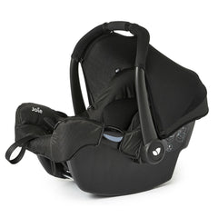 Joie Gemm Group 0+ Infant Car Seat (Black Carbon) - quarter view