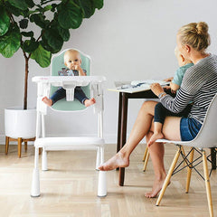 Oribel Cocoon Highchair (Plum) - lifestyle image