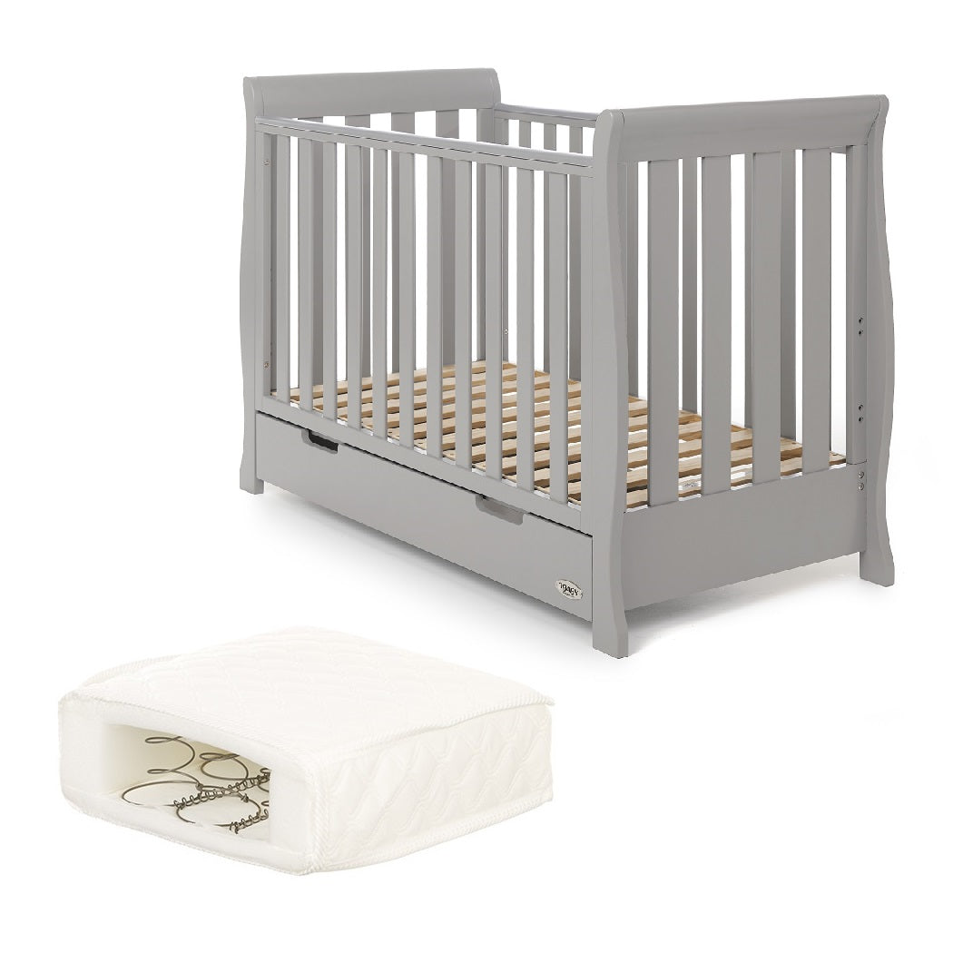 Obaby Quilted Water Resistant Washable Toddler Junior Cot Bed Spring Mattress