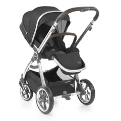 Babystyle Oyster 3 Mirror Pushchair (Caviar) - shown here parent-facing