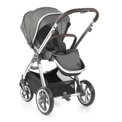 Babystyle Oyster 3 Mirror Pushchair (Mercury) - shown here parent-facing