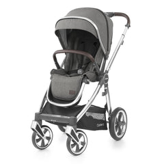 Babystyle Oyster 3 Mirror Pushchair (Mercury) - shown here forward-facing