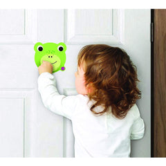 Oribel VertiPlay Door Knocker (Crroaky) - lifestyle image
