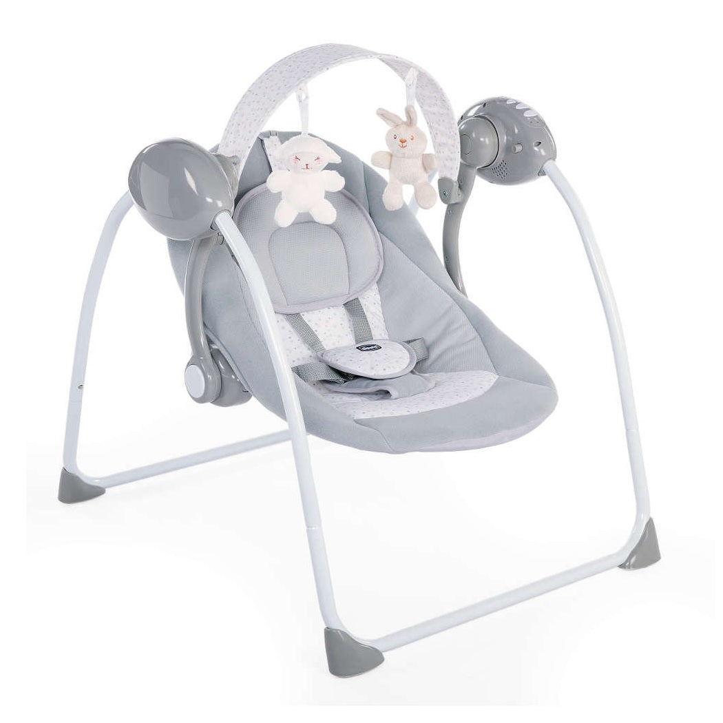 Chicco Relax & Play Swing (Cool Grey)
