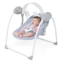 Chicco Relax & Play Swing (Cool Grey) - lifestyle image