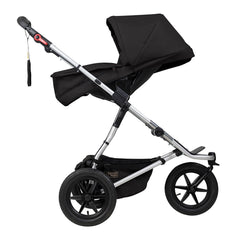 Mountain Buggy 2019 Carrycot Plus (Black) for Terrain - shown here as a parent-facing seat