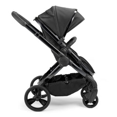 iCandy Peach Designer Collection (Cerium) Pushchair - side view, shown forward-facing