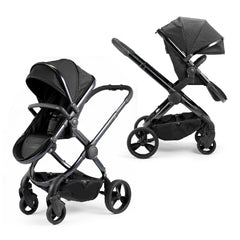 iCandy Peach Designer Collection (Cerium) Pushchair - shown forward-facing with the elevator adaptors