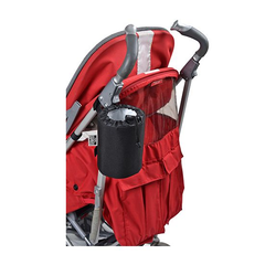Polar Gear Baby Go Anywhere Insulated Bottle Holder - shown here attached to a buggy`s frame (buggy not included)