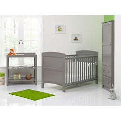 Obaby Grace 3 Piece Room Set (Taupe Grey) - lifestyle image