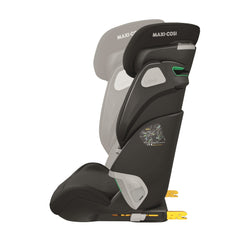 Maxi-Cosi Kore Pro i-Size Child Car Seat (Authentic Black) - side view, showing the seat`s adjustability