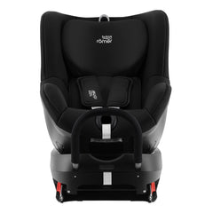 Britax DualFix 2 R Car Seat (Cosmos Black) - front view, shown here rear-facing