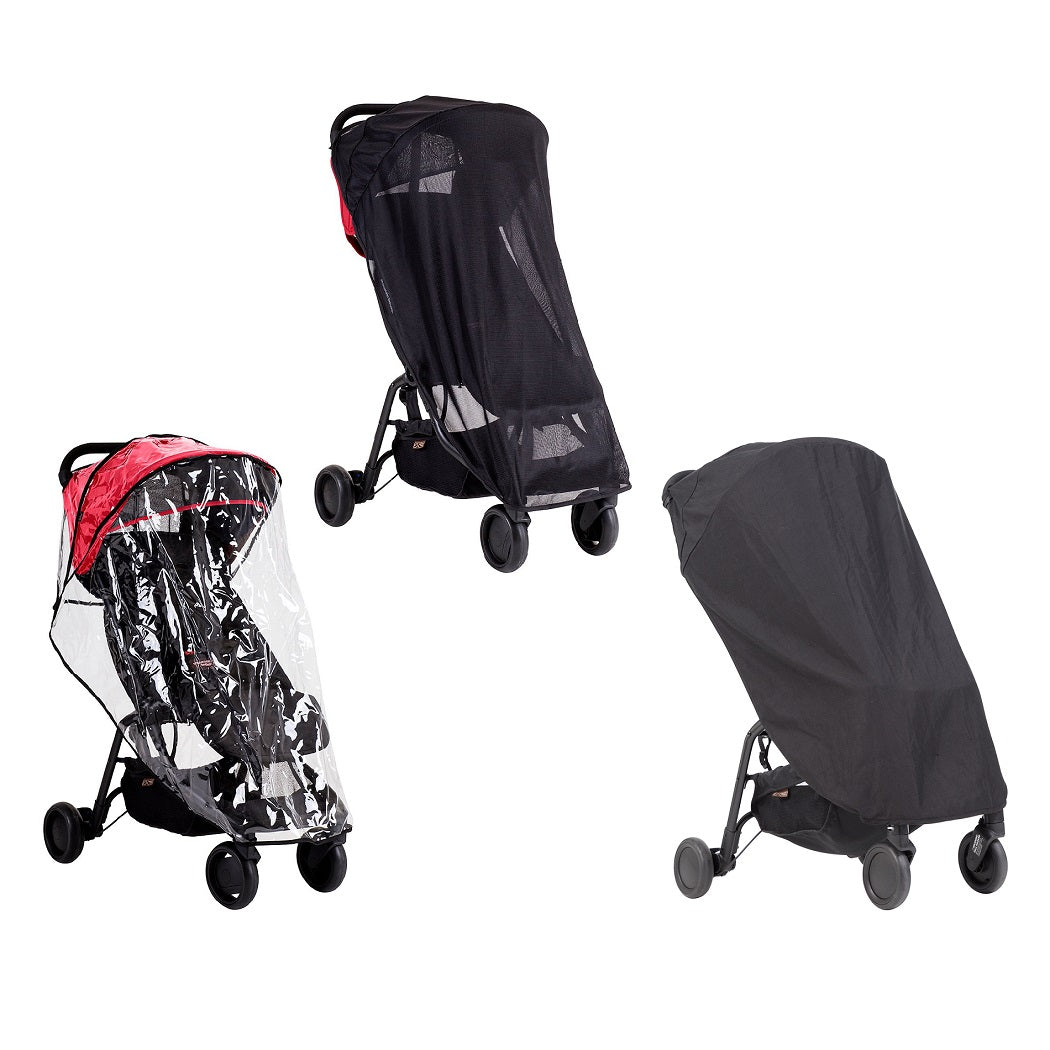 Mountain Buggy Nano All Weather Cover Set (Sun / Storm / Blackout)