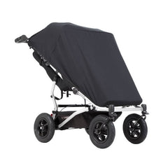 Mountain Buggy Sun Cover Set - Sun & Blackout (Duet v3 DOUBLE) - shown here with the blackout cover