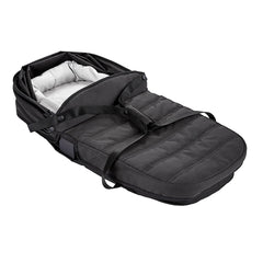 Baby Jogger City Tour 2 Carrycot - Single (Pitch Black) - shown here folded for travelling or storage