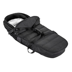 Baby Jogger City Tour 2 Carrycot - Double (Pitch Black) - showing the carrycot folded