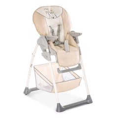 Hauck Disney Sit 'n' Relax Highchair (Pooh Cuddles) - quarter view, showing the highchair without its food tray