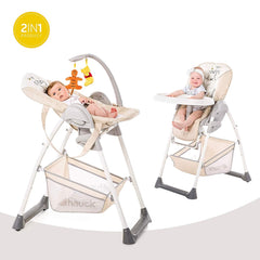 Hauck Disney Sit 'n' Relax Highchair (Pooh Cuddles) - lifestyle image