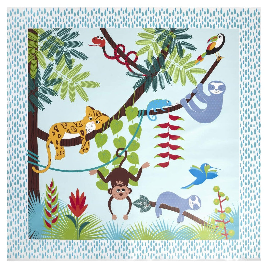 East Coast Splash Mat (Tropical Friends)
