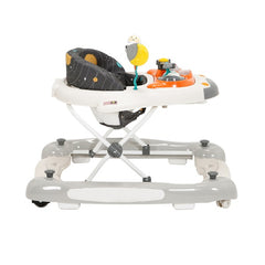 MyChild Space Shuttle 2-in-1 Walker/Rocker (Cosmic Grey) - side view