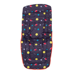 Cosatto Universal Footmuff Cosytoes (Spaceman) - showing the reverse side which can be used as a seat liner