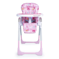 Cosatto Noodle 0+ Highchair (Unicorn Land) - front view, shown here without newborn insert