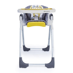 Cosatto Noodle 0+ Highchair (Fika Forest) - front view, shown with seat reclined