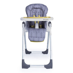 Cosatto Noodle 0+ Highchair (Fika Forest) - front view, shown with newborn liner removed and seat upright