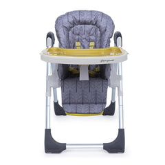 Cosatto Noodle 0+ Highchair (Fika Forest) - front view, shown here at its lowest height
