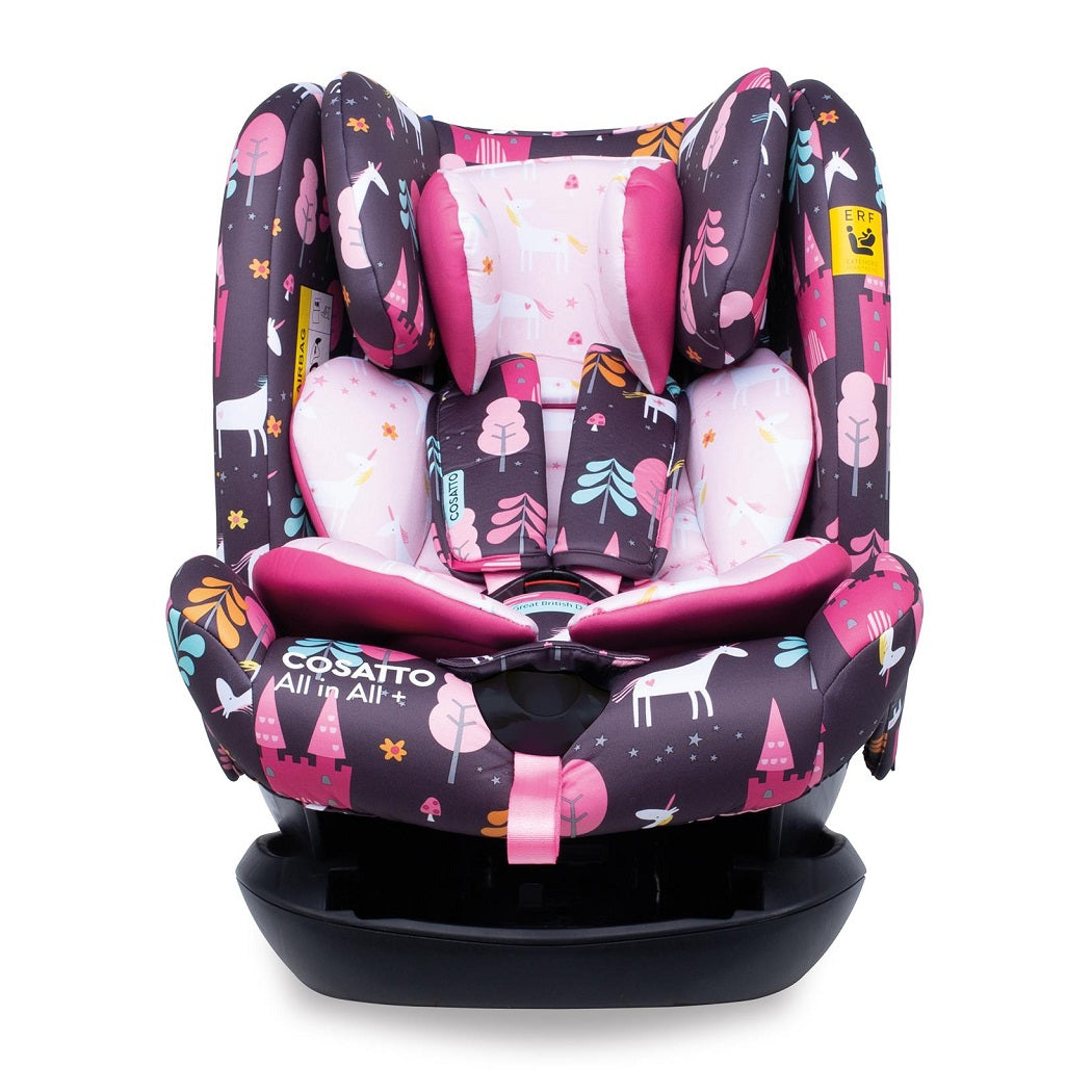 Cosatto All In All Plus ISOFIX Car Seat - Group 0+123 (Unicorn Land)
