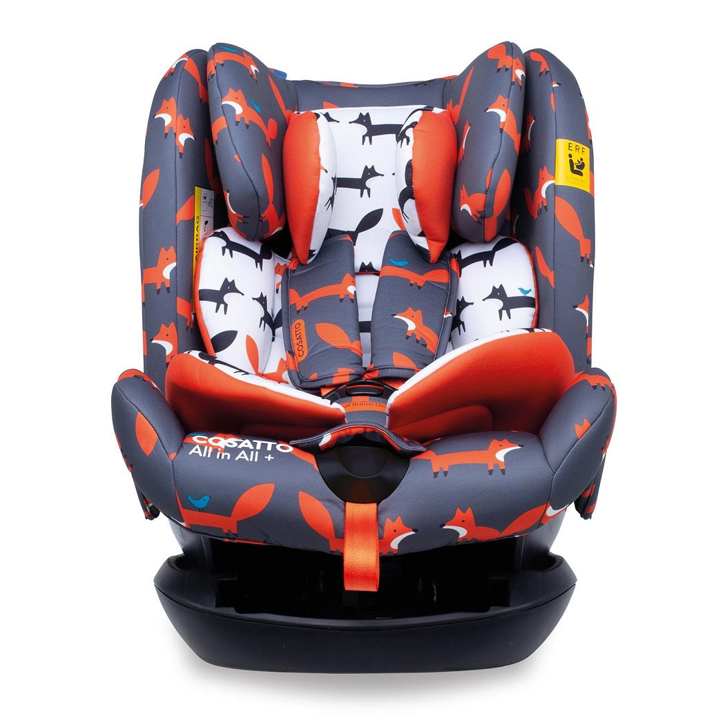 Cosatto All In All Plus ISOFIX Car Seat - Group 0+123 (Mister Fox)